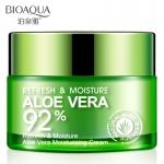 Освежающий и увлажняющий крем-гель для лица и шеи Алоэ Вера 92%, 50 гр.